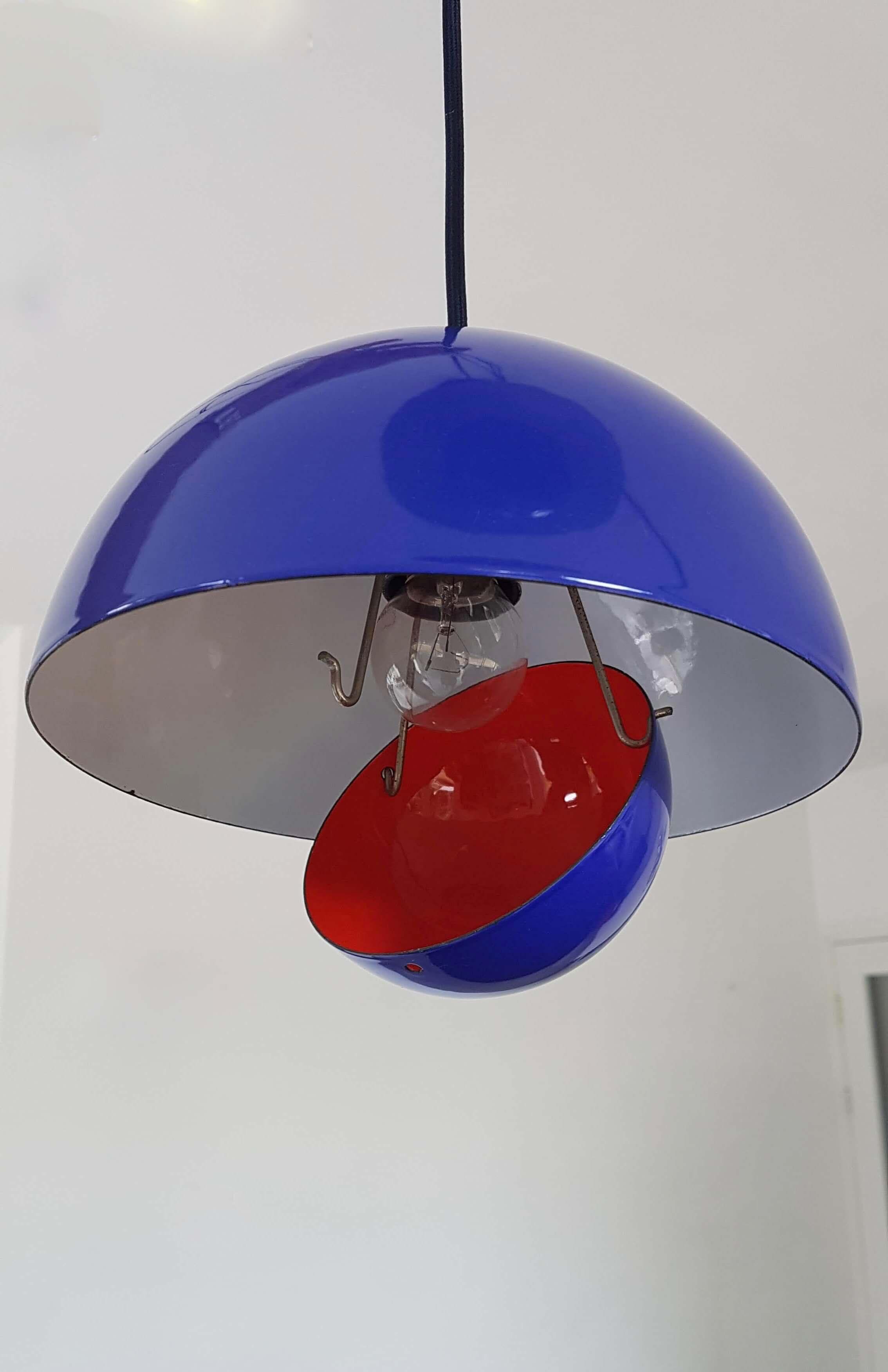 Vintage Flower Pot Cluster lamp