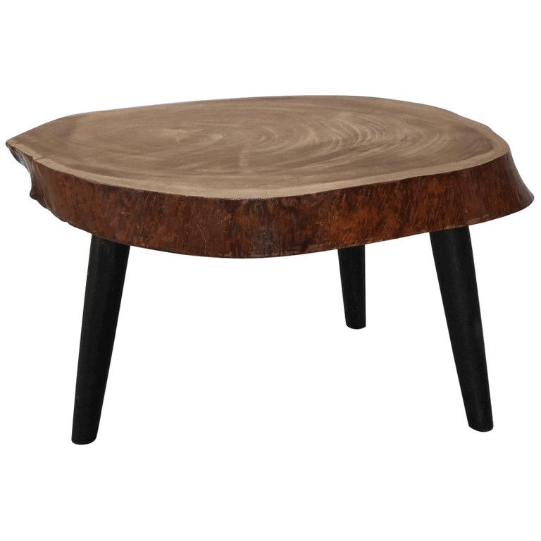 VintageTripod boomstam tafel