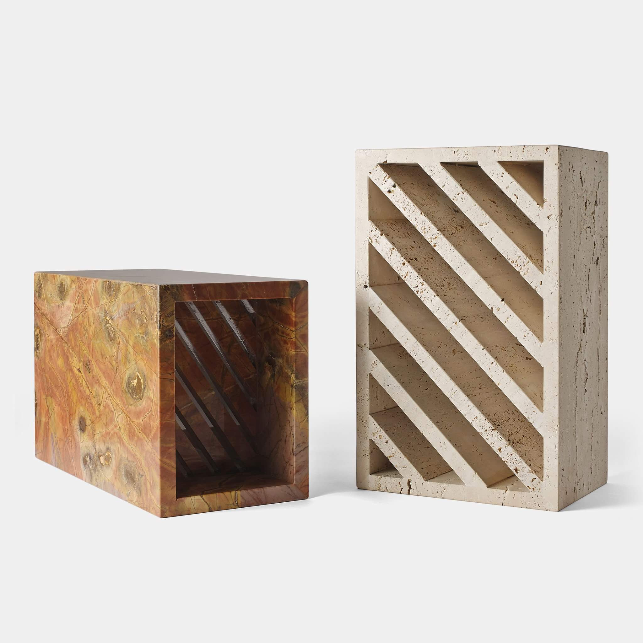 Brick side tables