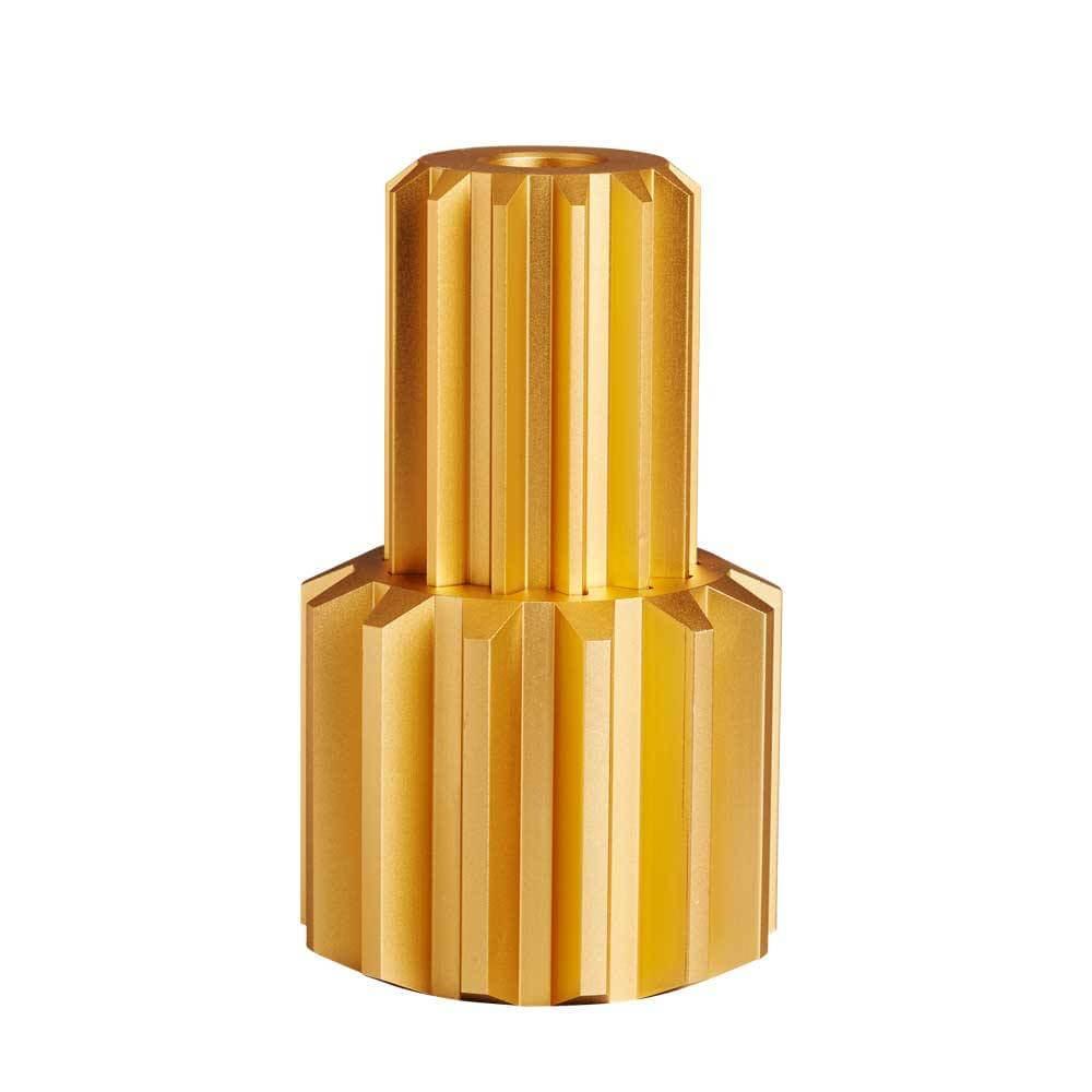 Gear Candle Holder Set 'Gold'