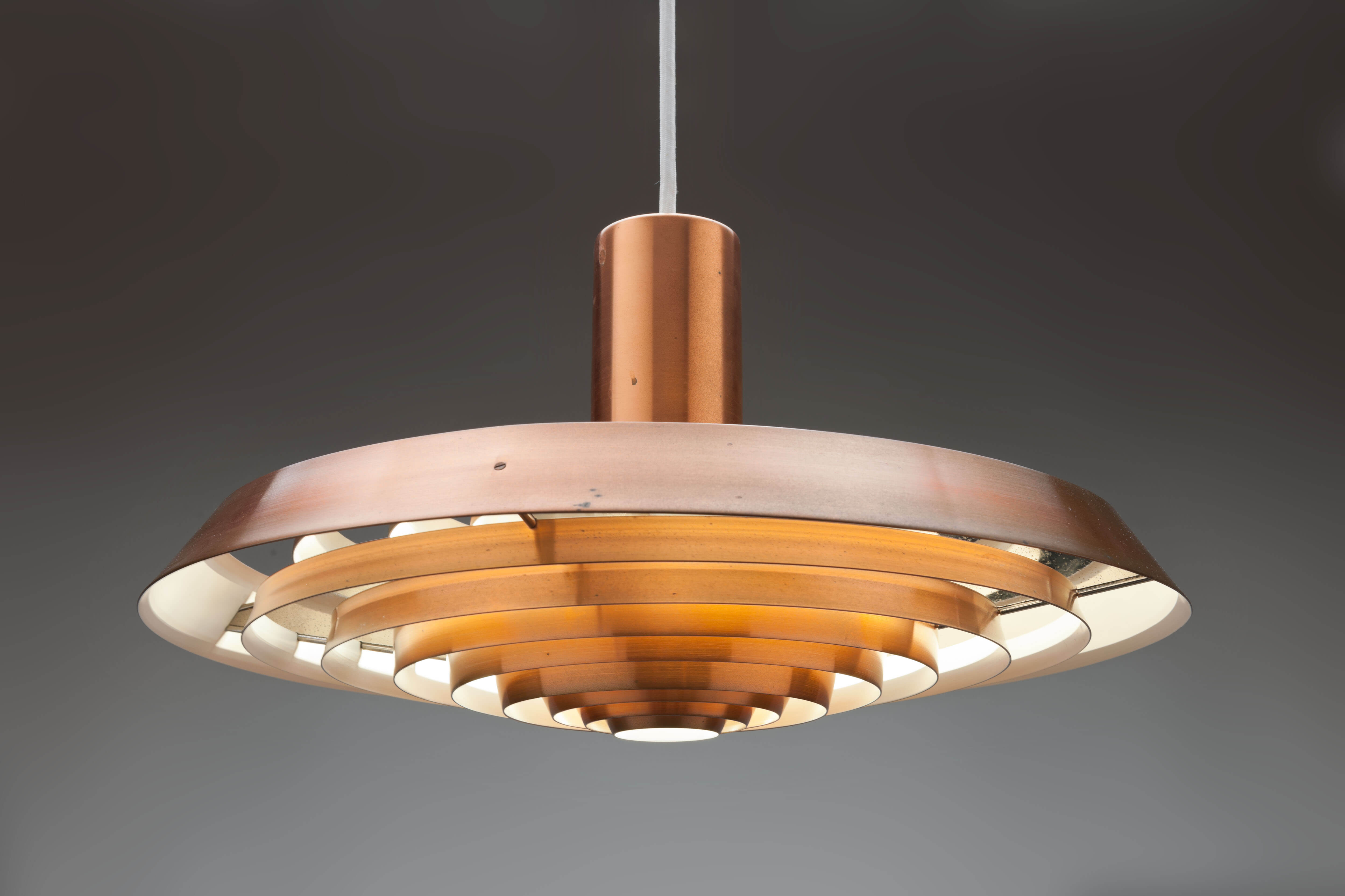 Vintage 'Plate-lamp' of 'Langelinie'