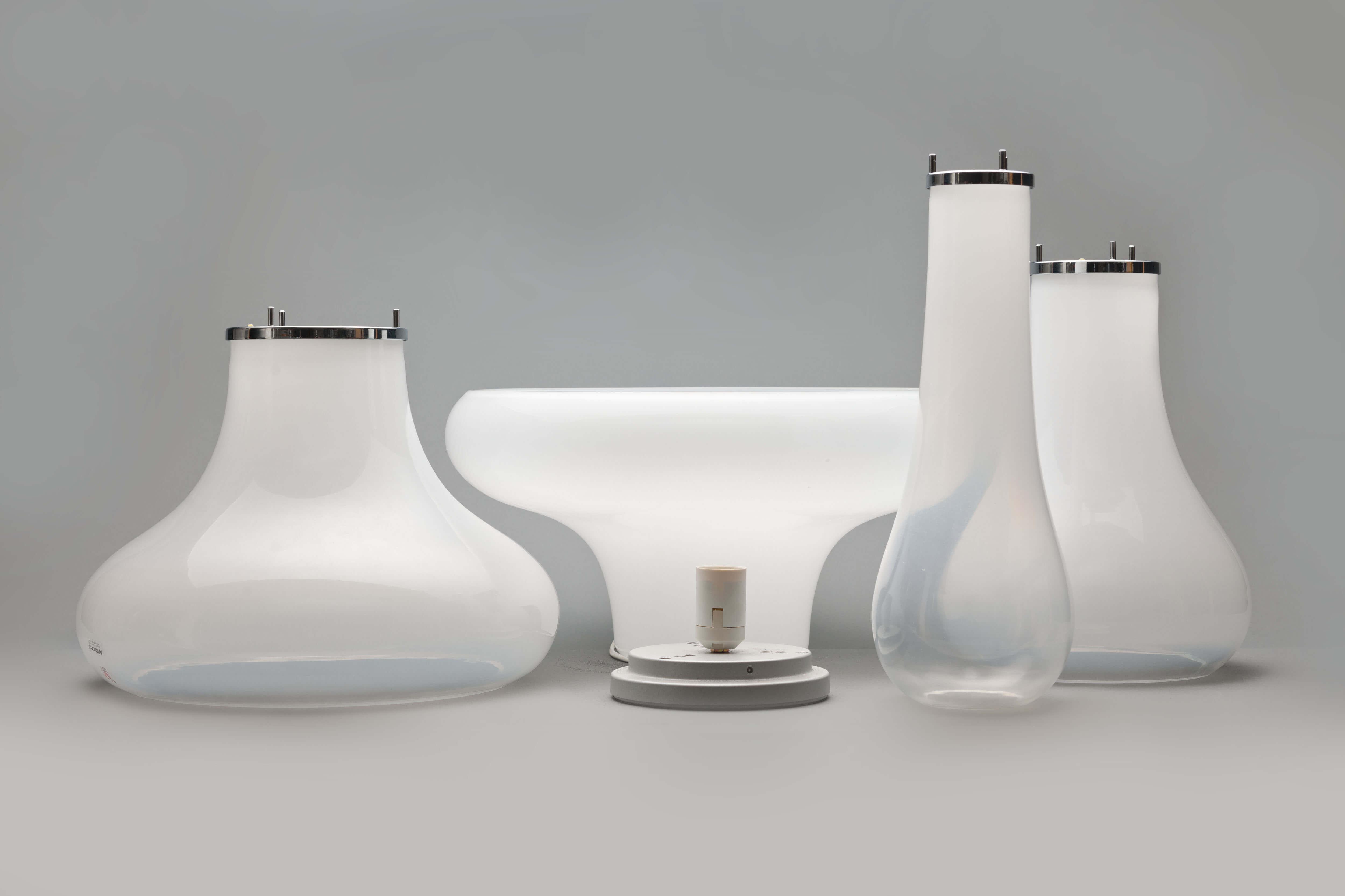 Vintage Lotus tafellamp