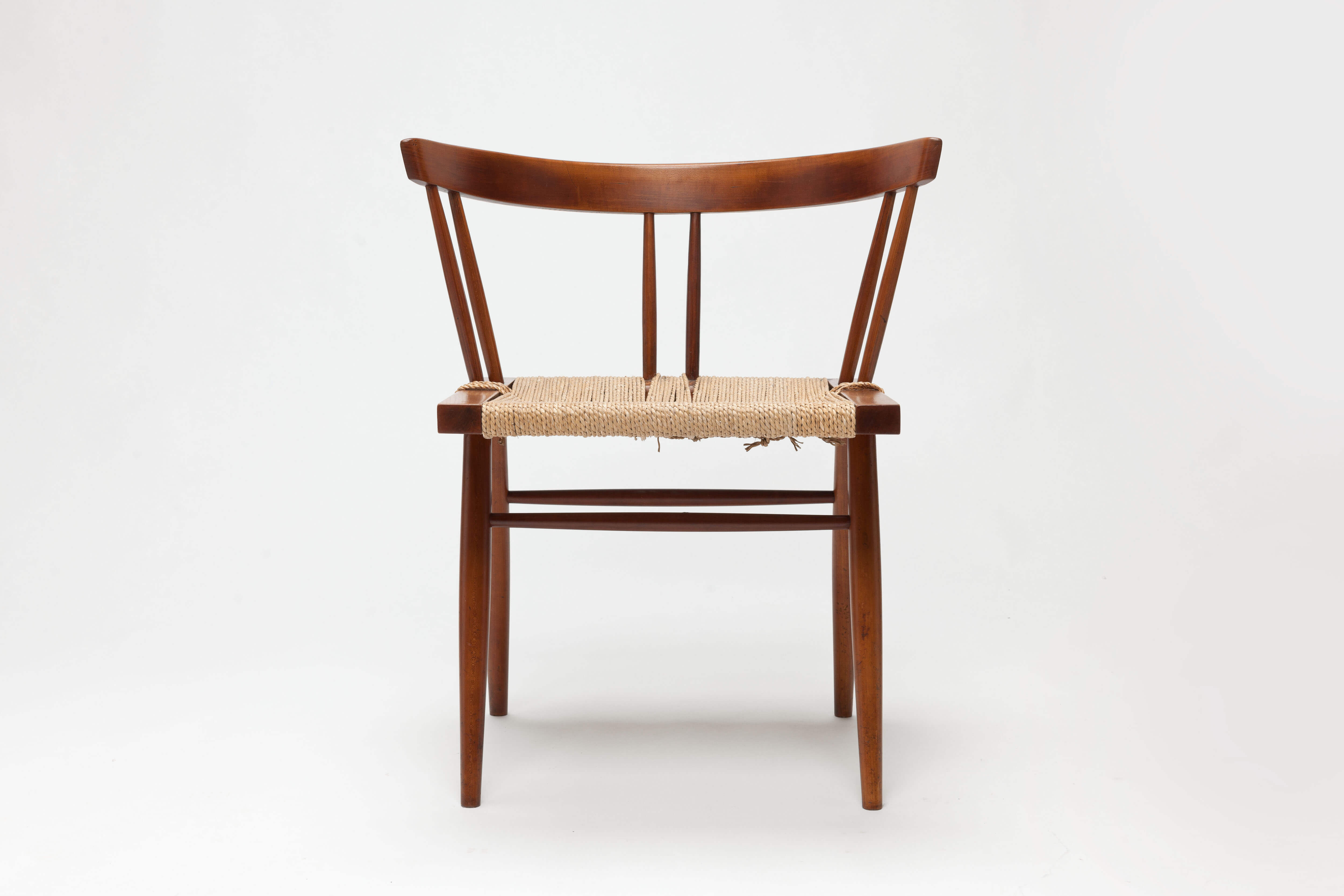 Vintage George Nakashima Grass Chair