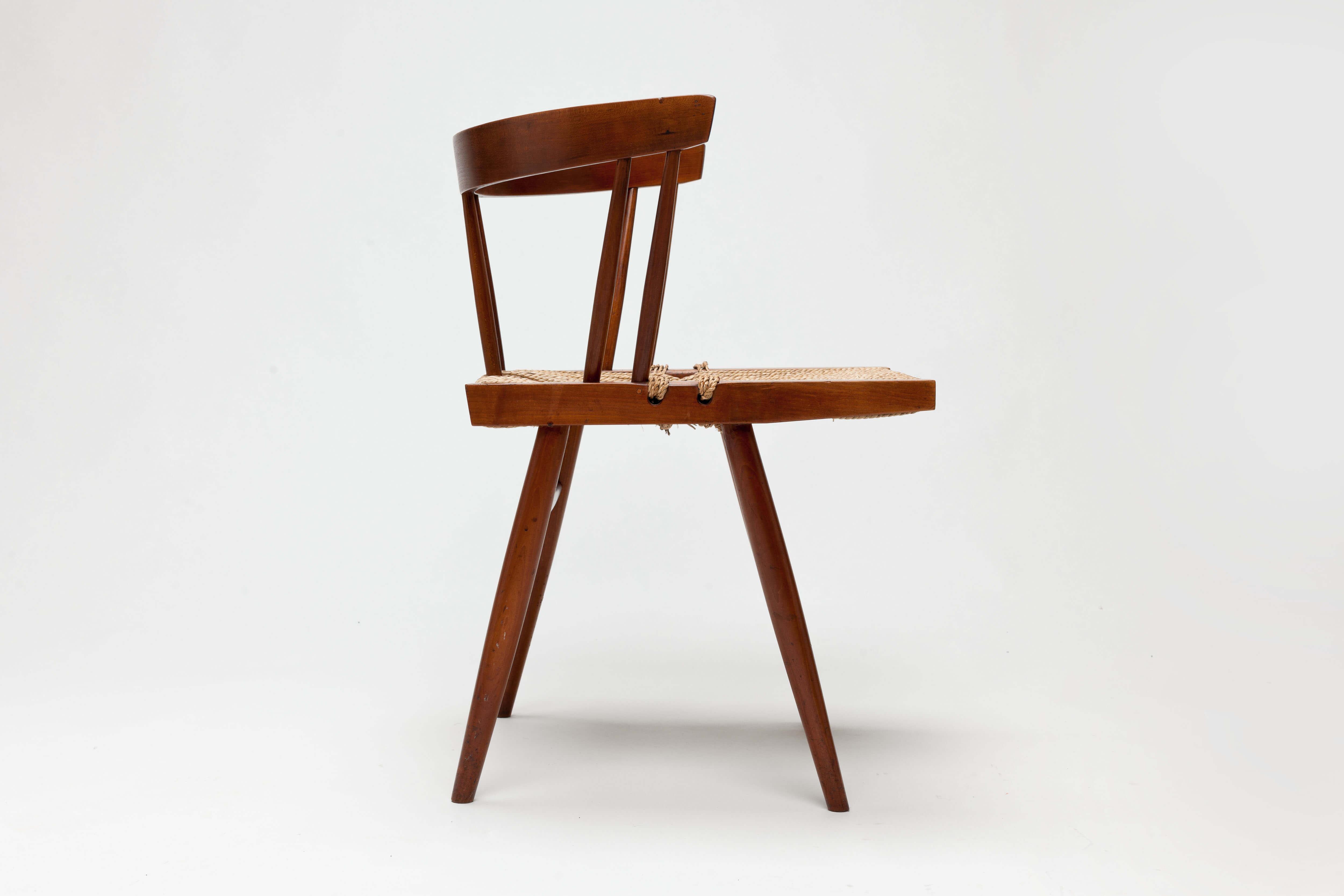 Vintage George Nakashima Grass Chair