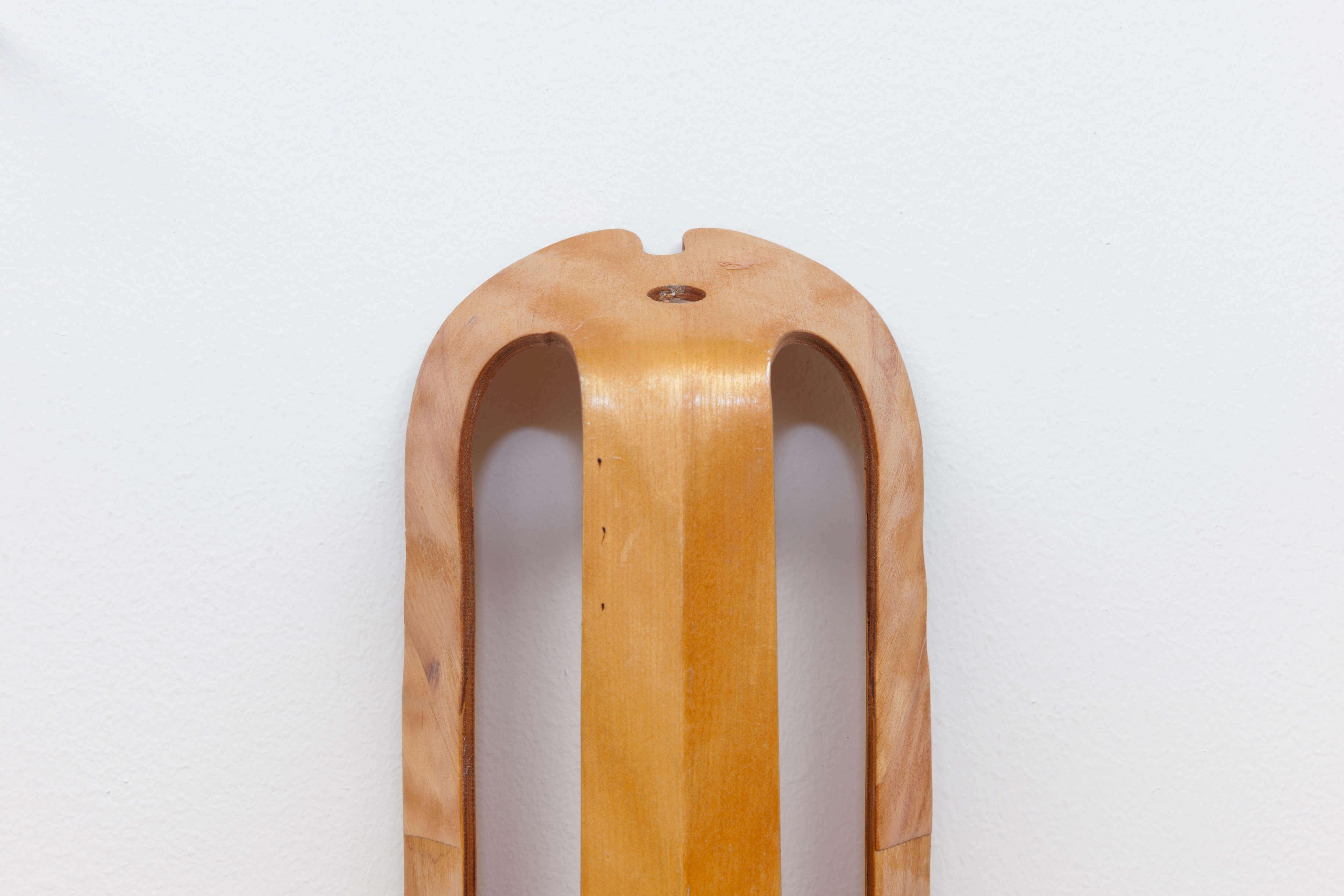 Vintage Plywood Leg Splint