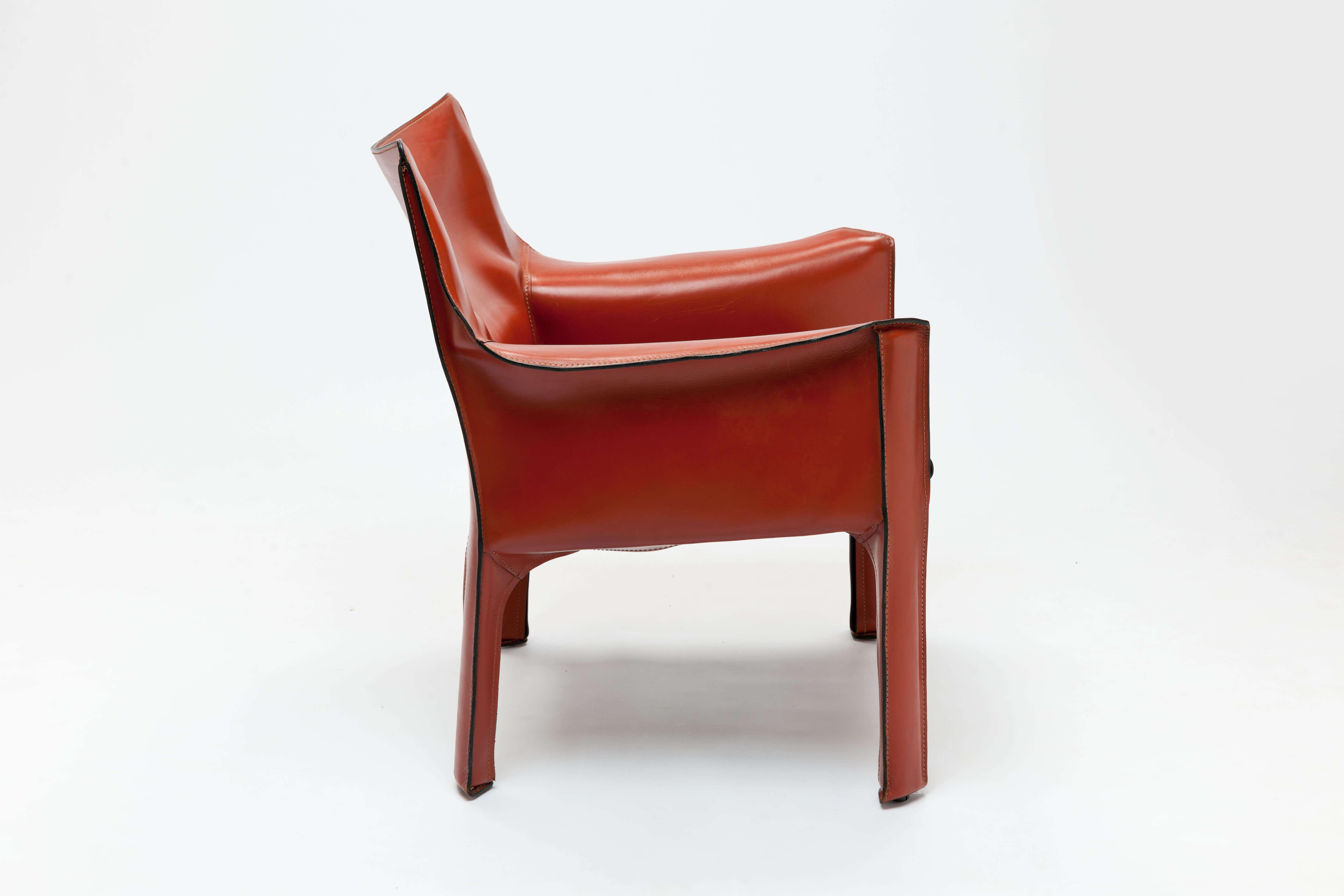 Paar vintage 'CAB' fauteuils