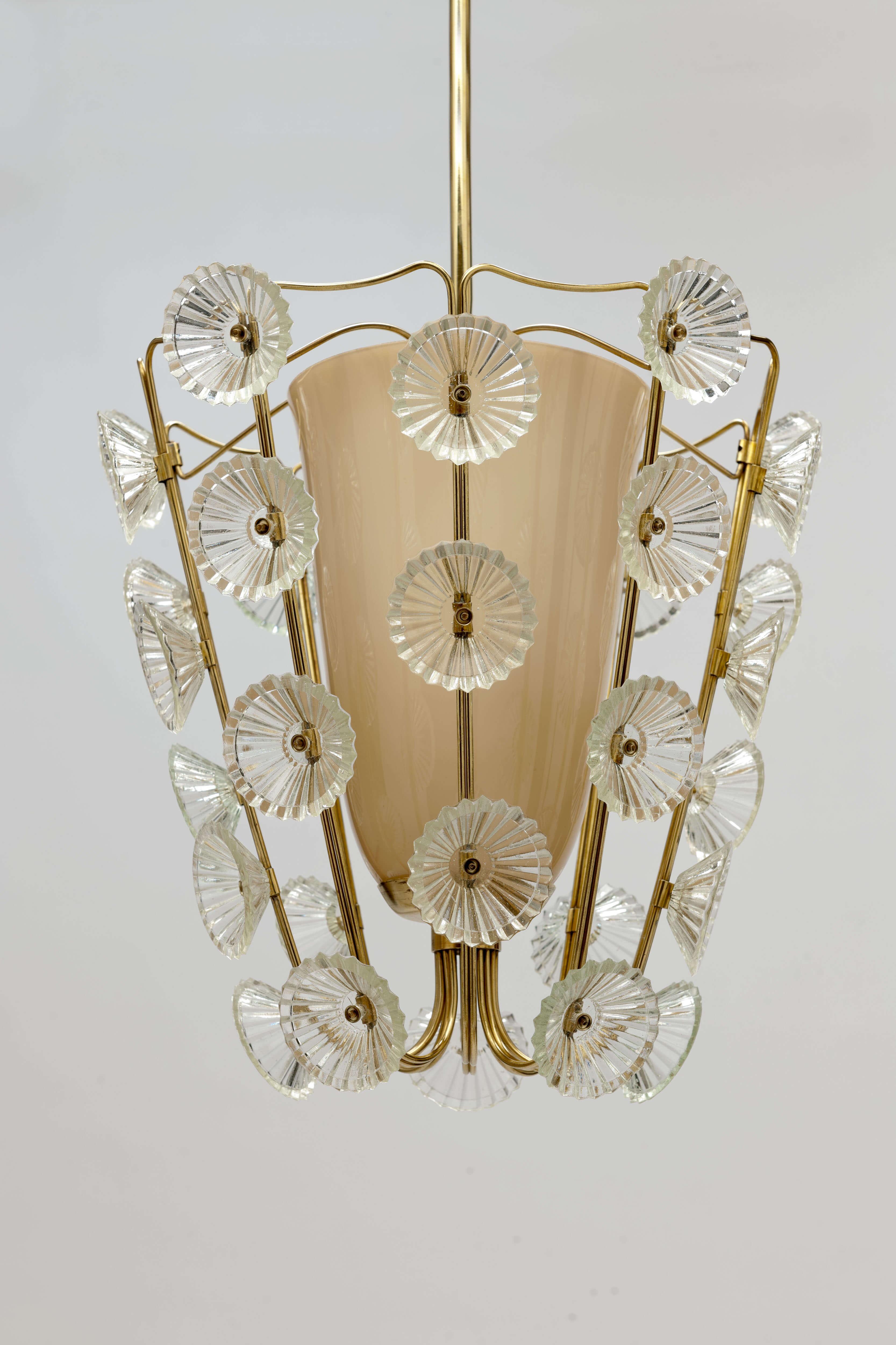 Vintage 'Rozetten' Lamp