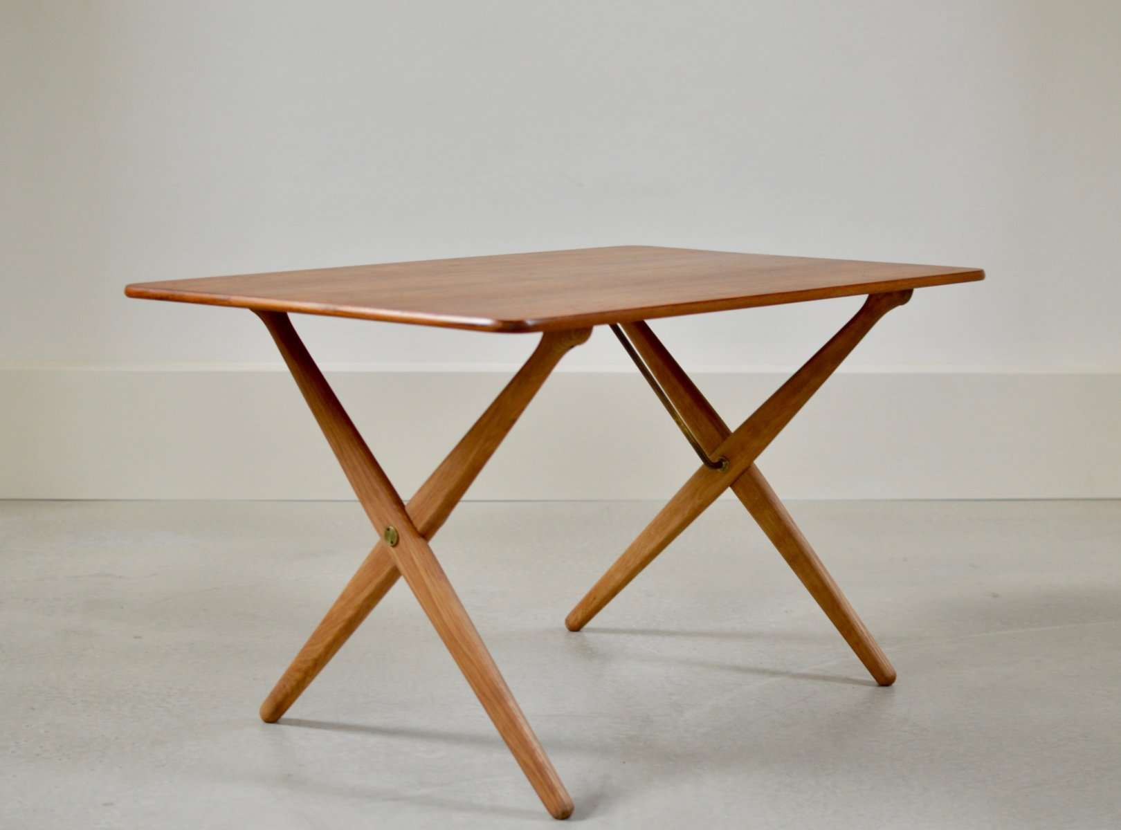 Vintage Sawhorse Table