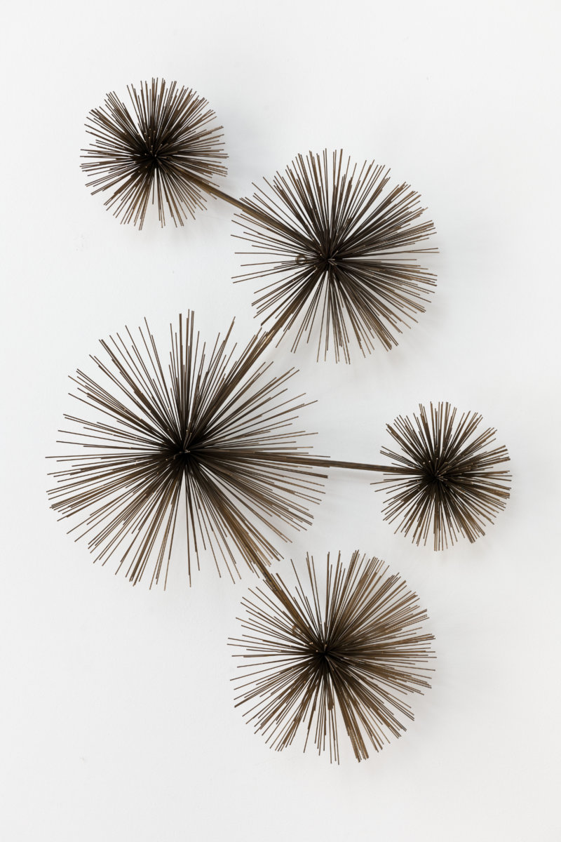 Vintage Messing Pom Pom Sculpture