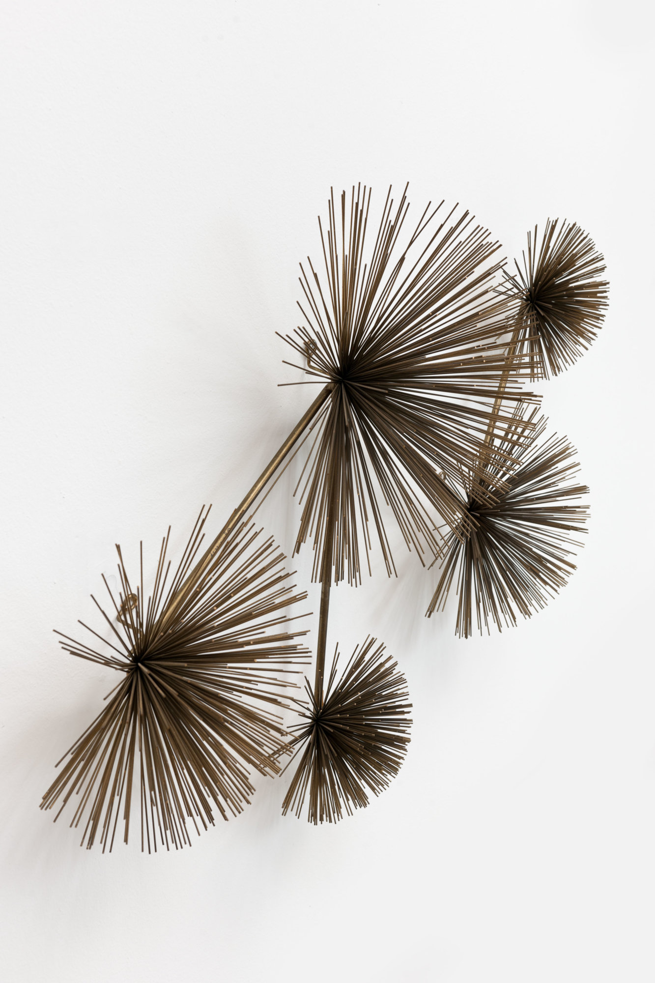 Vintage Messing Pom Pom Sculpture