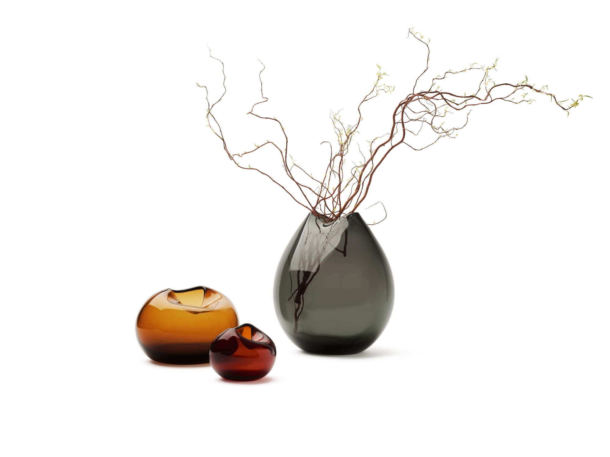 Pebble Vase 'Gold'