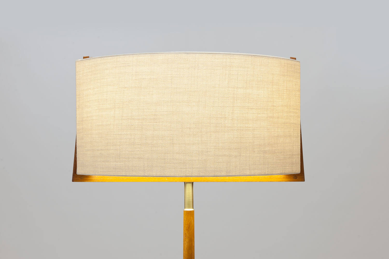 Vintage 'Swedish Grace' vloerlamp