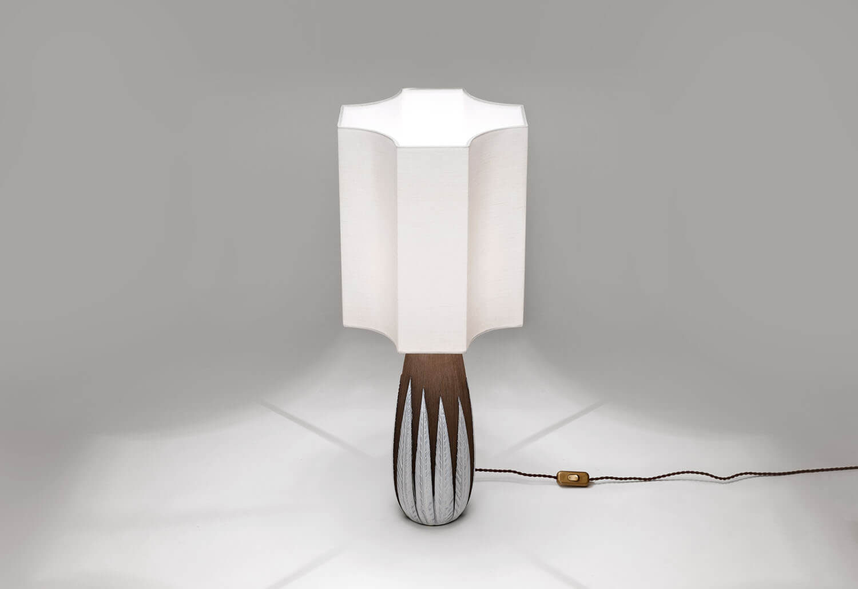 Vintage 'Paprika' Tafellamp