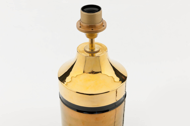 Vintage goud metallic tafellamp