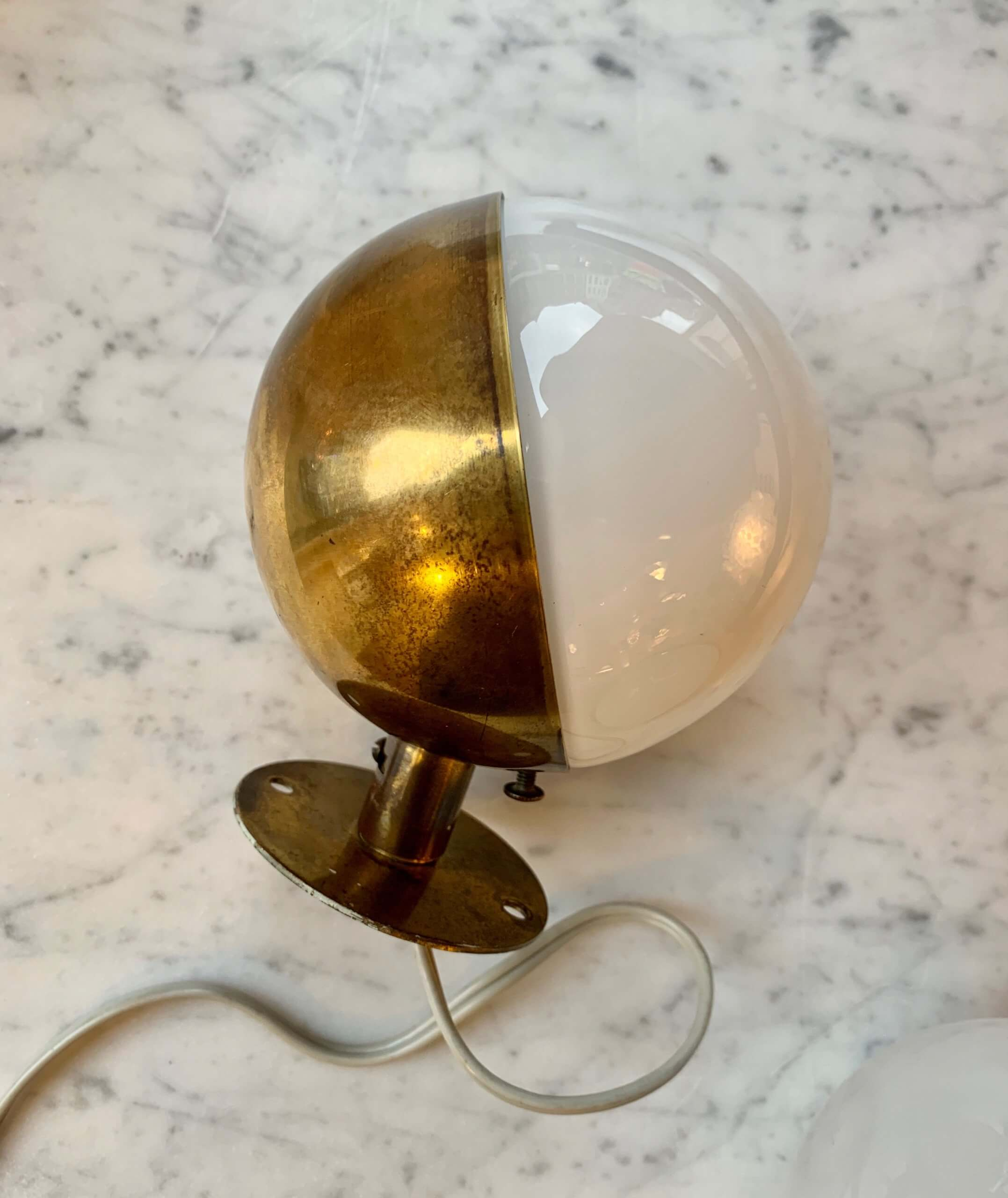 Vintage Radiohus wandlampen