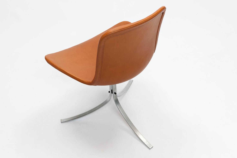 Vintage PK9 stoelen & PK54 tafel
