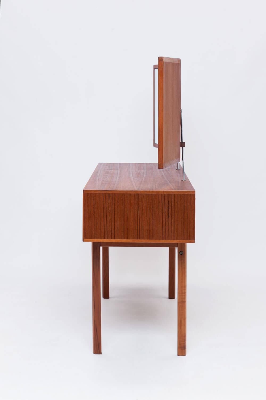 Vintage Teakhouten Kaptafel