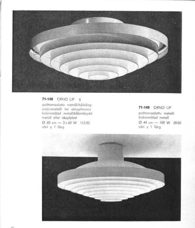Vintage messing lamellen plafondlamp(en)