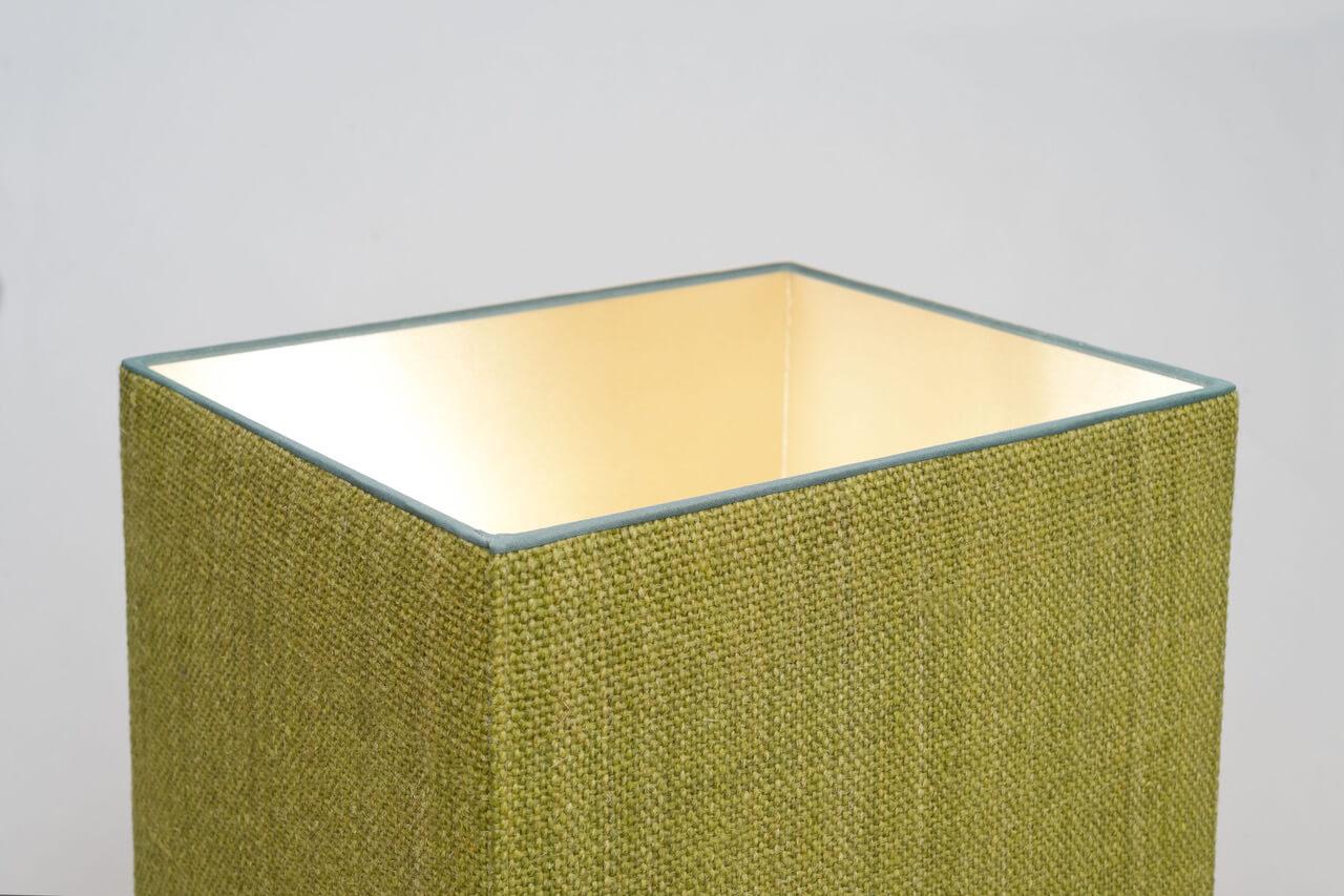 Vintage Zweedse glazen tafellamp