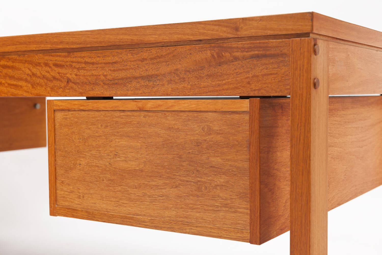 Vintage kopshout bureau