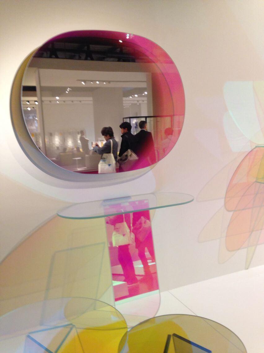 Shimmer 1 – Iridescent Mirror