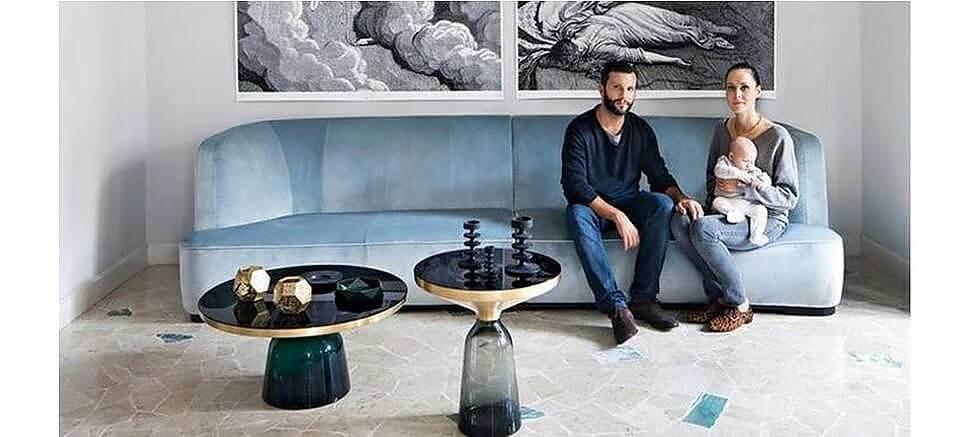 Bell Table 'Quartz Grey'
