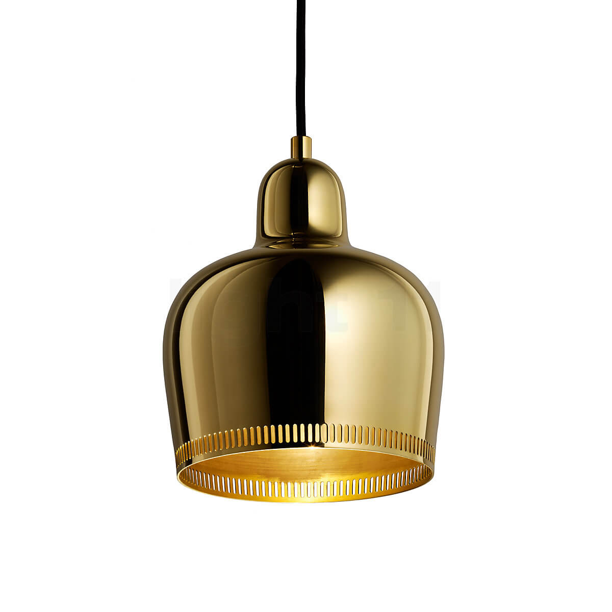 Golden Bell Lamp