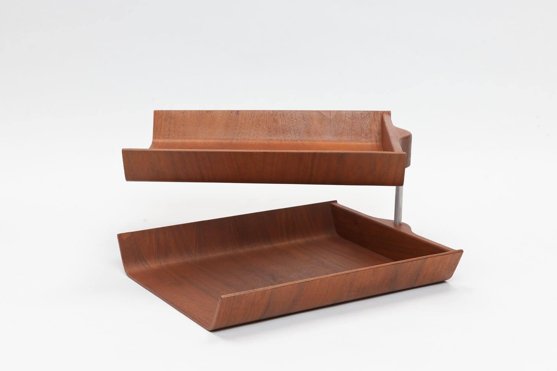 Vintage Double Desk Tray