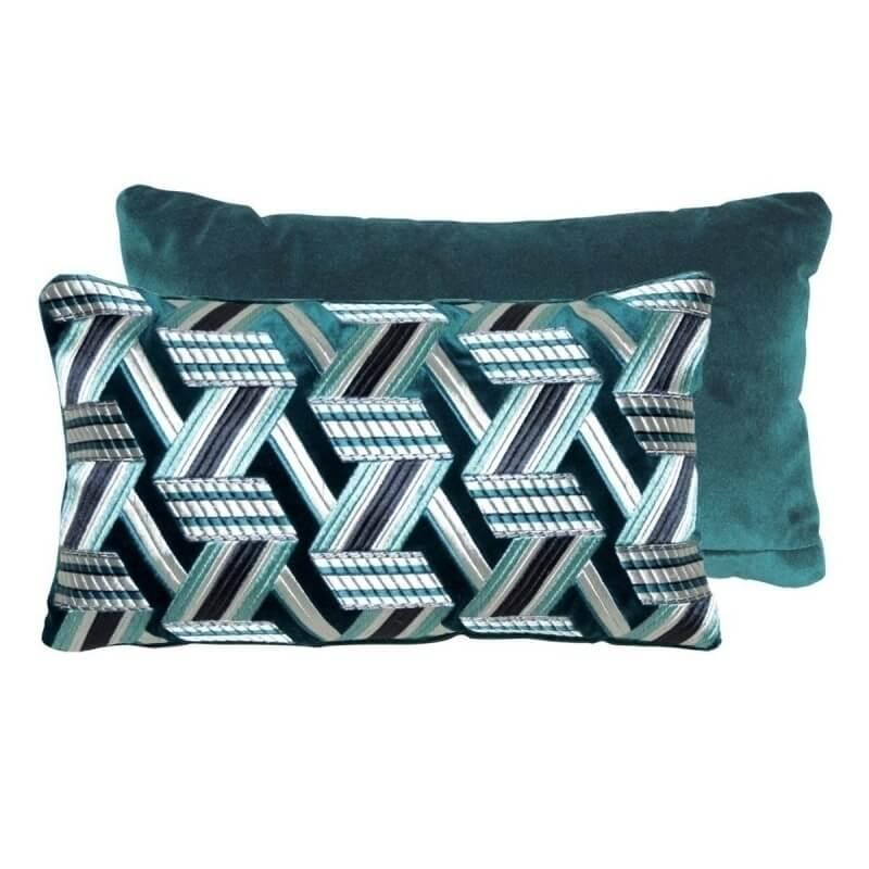 Sunrise Cushion 'Turkois'