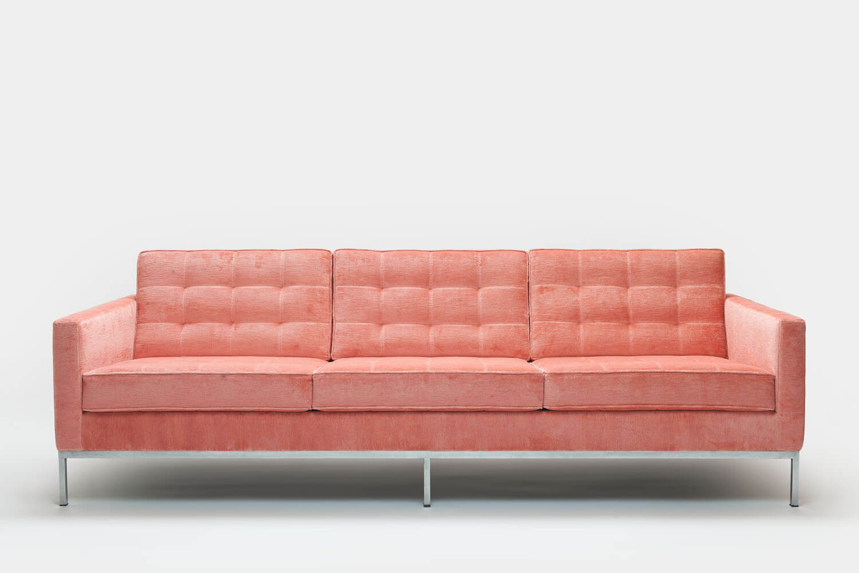 Vintage Florence Knoll Lounge Series Sofa