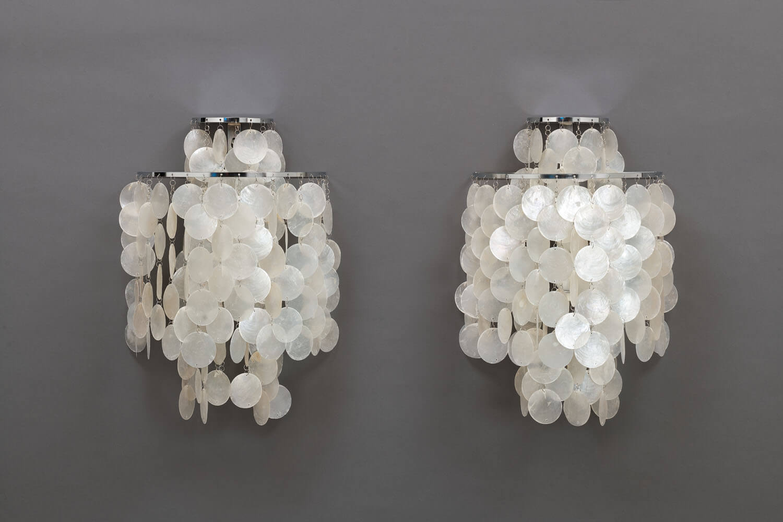 Vintage NOS Fun 2WM wall lamps