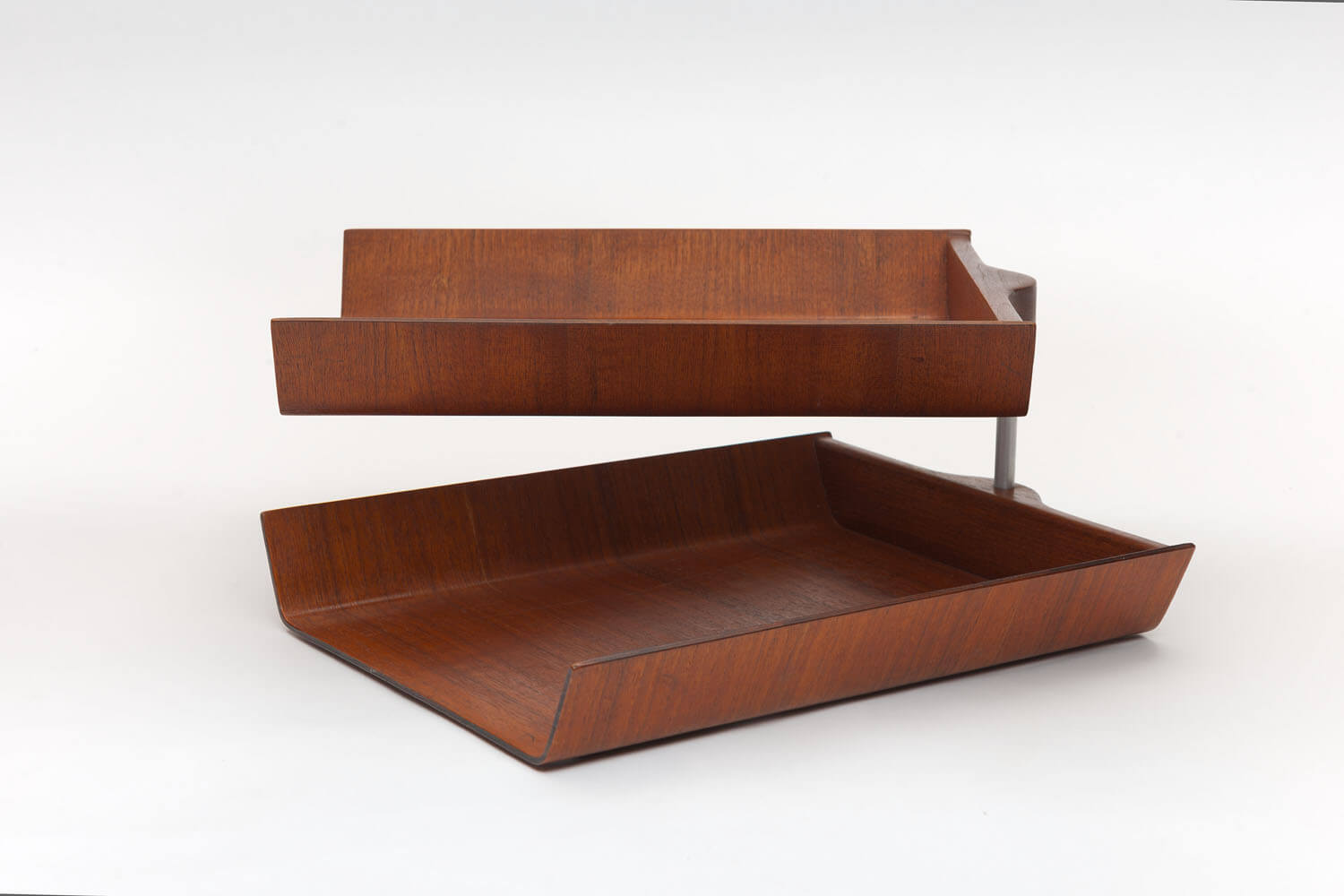 Vintage Double Pivoting Desk Tray