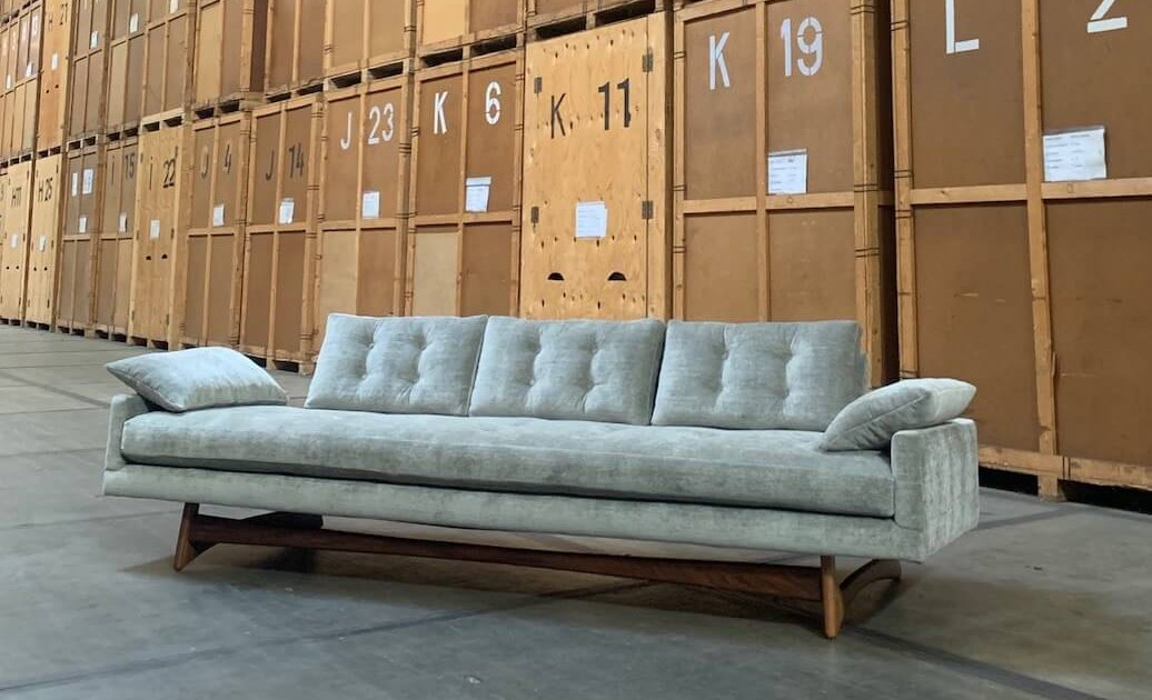Vintage Model 2408 'Gondola' Sofa