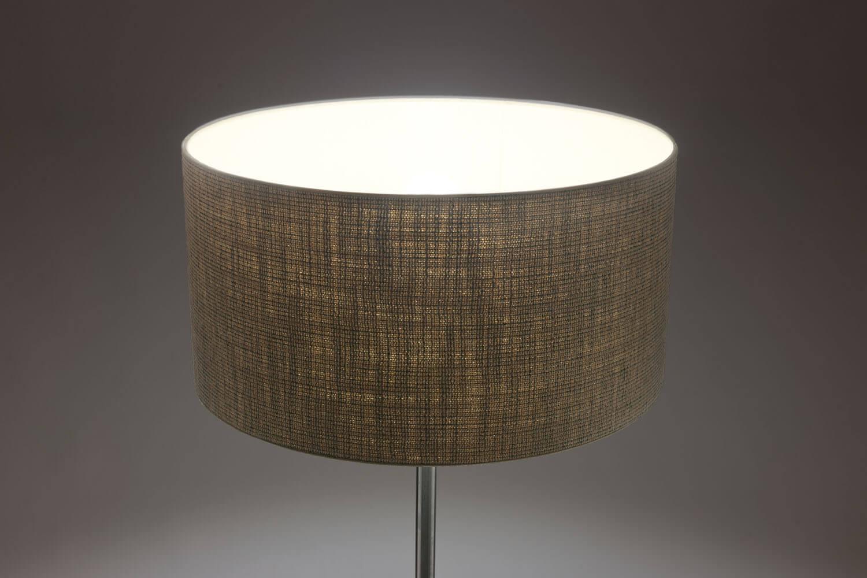 Vintage Palissanderhouten 'Monolit' Vloerlamp