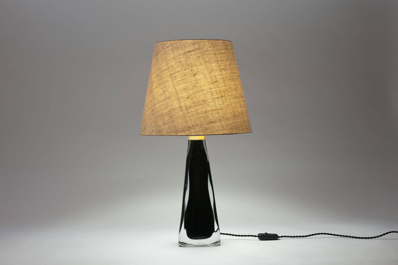 Vintage 'underfång' tafellamp