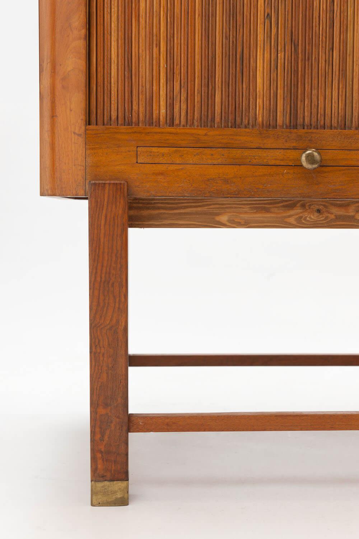 Vintage Walnoot houten Cabinet
