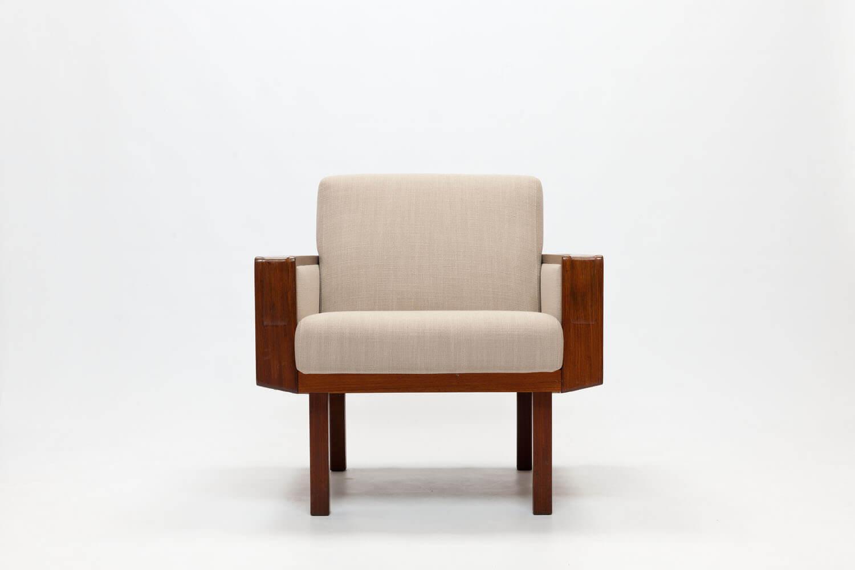 Vintage 'Brasil' Cane & Teak Chair