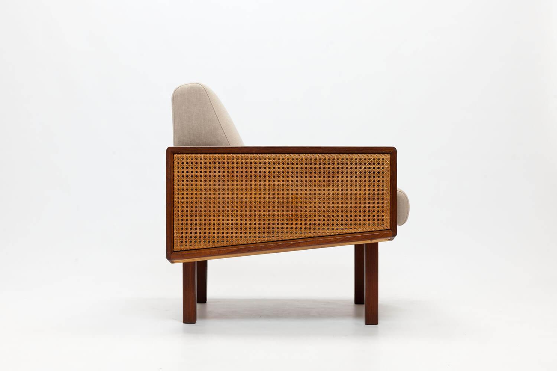'Brasil' Cane & Teak Chair