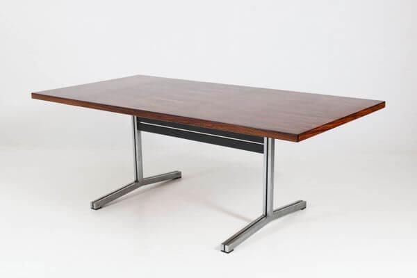 Palissanderhouten conferentietafel – bureau